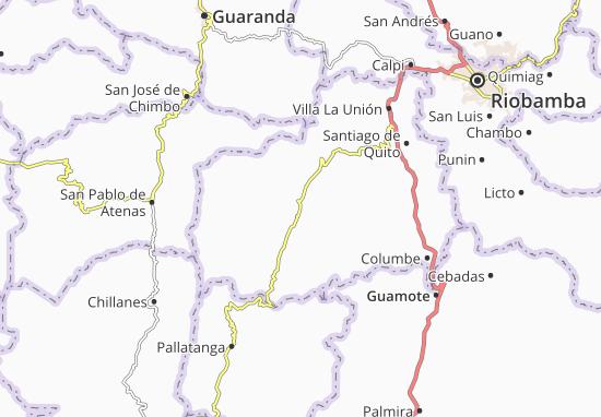Juan de Velasco Map