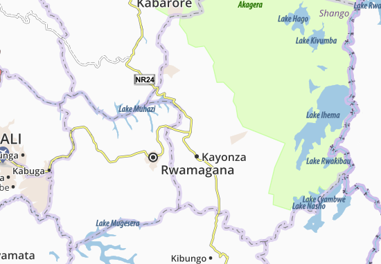 Karte Stadtplan Cyeru