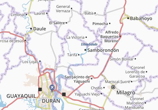 Karte Stadtplan Tarifa