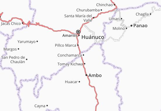 Mappe-Piantine Conchamarca