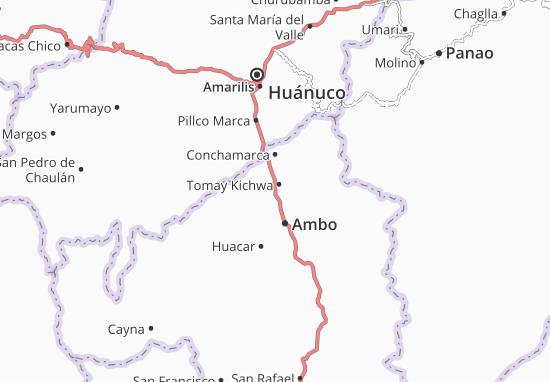 Tomay Kichwa Map