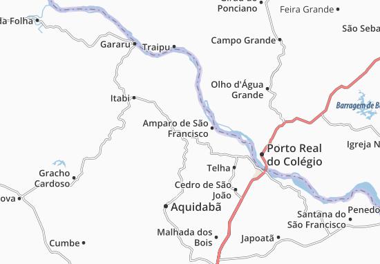 Canhoba Map