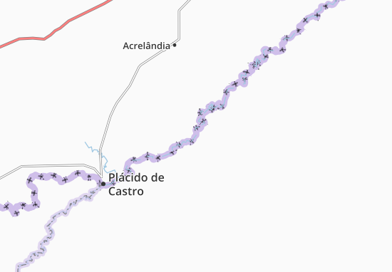 Mappe-Piantine Villa Rica