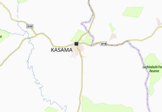 Bwembya Map