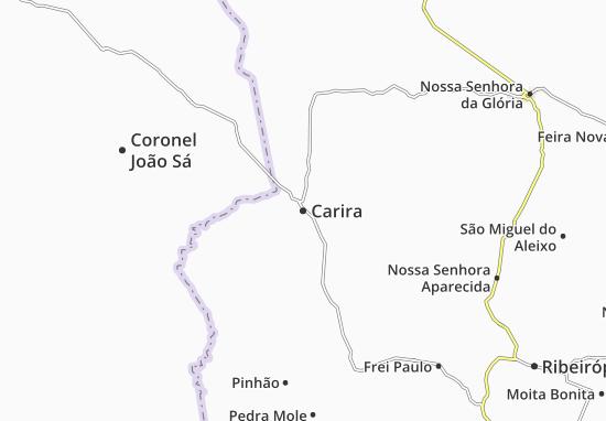 Carira Map