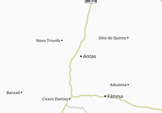 Carte-Plan Antas