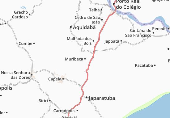 Muribeca Map