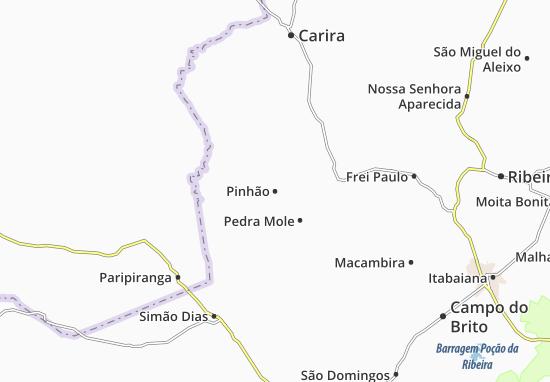 Carte-Plan Pinhão