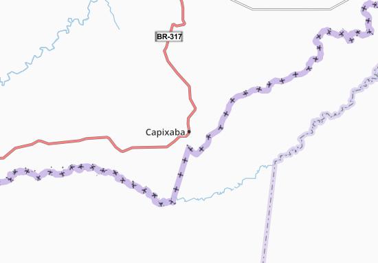 Kaart Plattegrond Capixaba