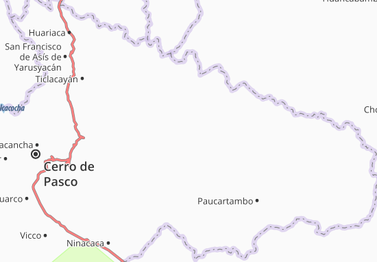 Huachón Map