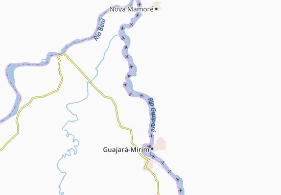 Bananeiras Map