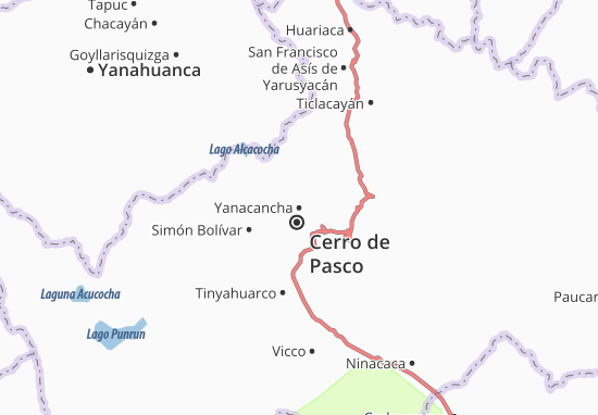Mappe-Piantine Yanacancha