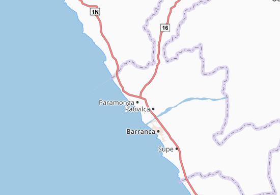 Carte-Plan Paramonga