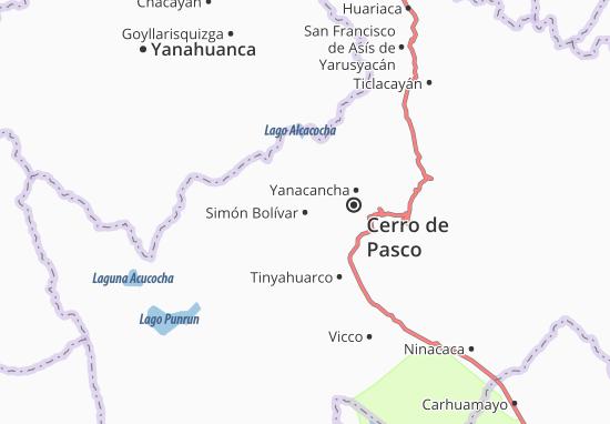 Simón Bolívar Map