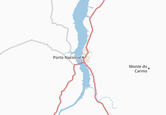 Carte-Plan Porto Nacional
