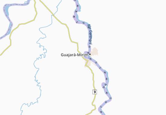 Guajara-mirim Map
