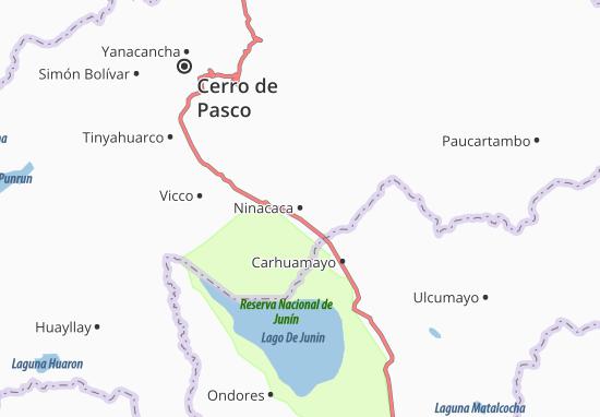 Mappe-Piantine Ninacaca