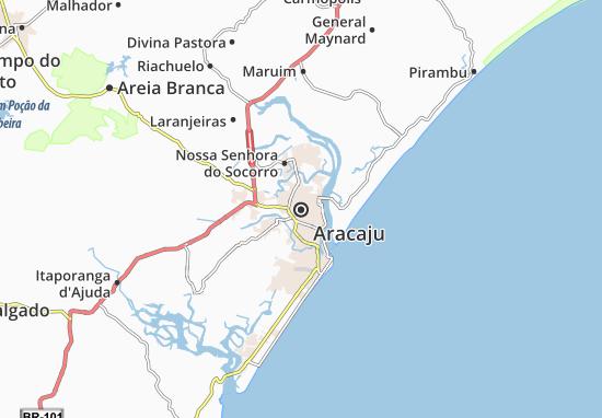 Aracaju Map