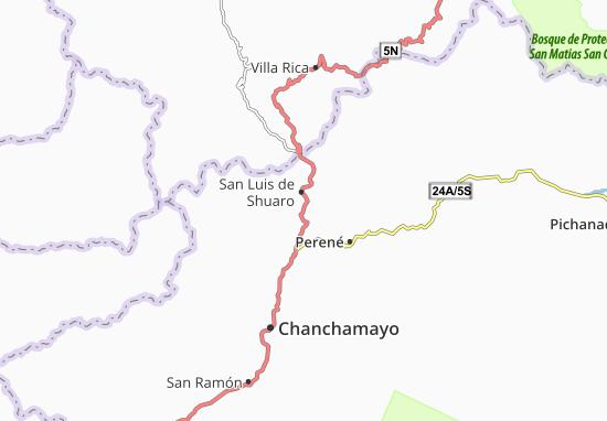 Mappe-Piantine San Luis de Shuaro