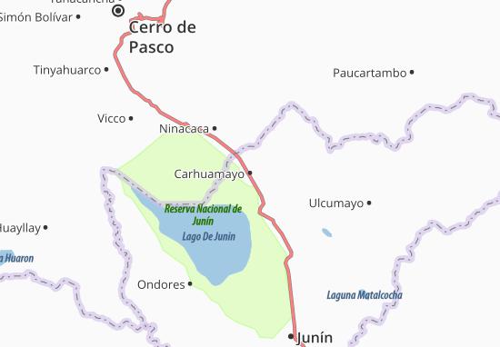 Carhuamayo Map
