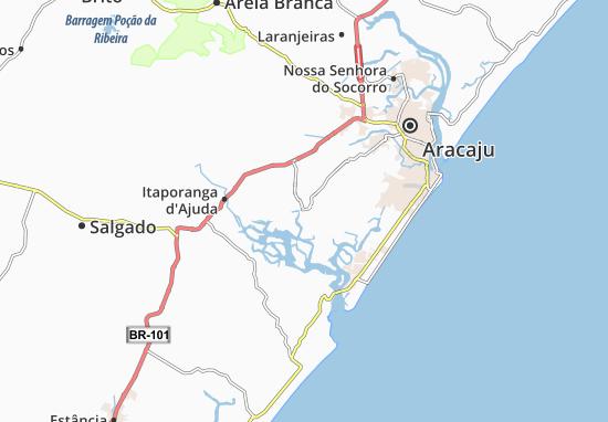São Cristóvão Map