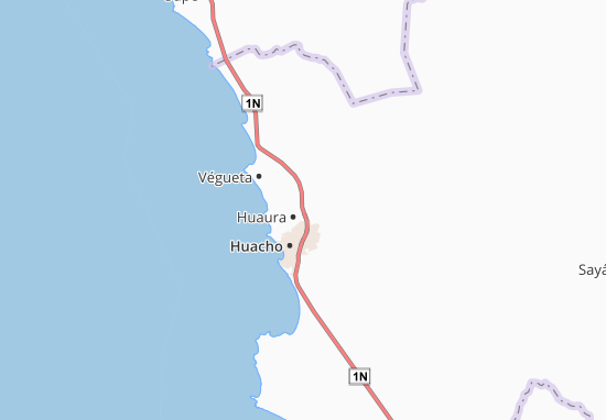 Mappe-Piantine Huaura