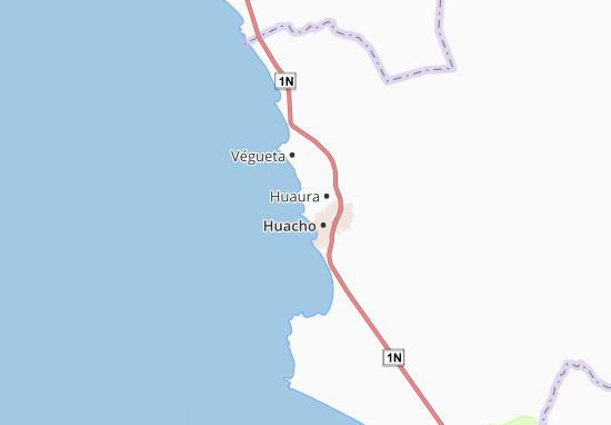 Mappe-Piantine Caleta de Carquín