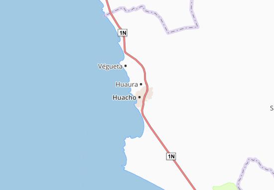 Hualmay Map