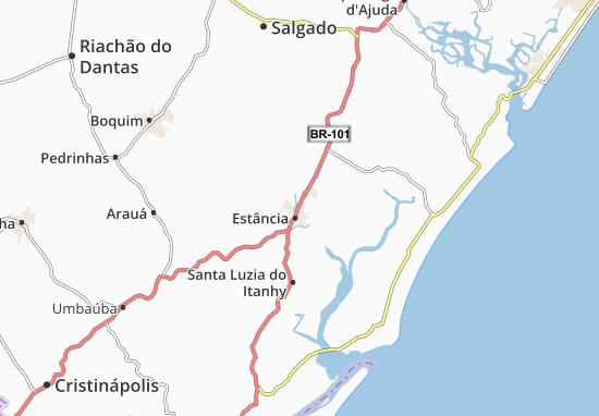Estância Map