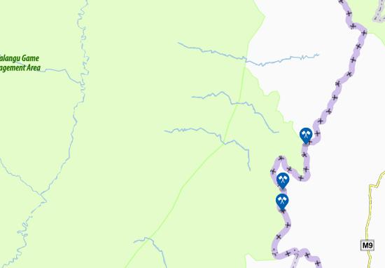 Kaart Plattegrond Chifundufwe
