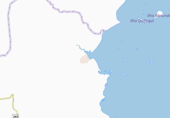 Carte-Plan Mocimboa da Praia