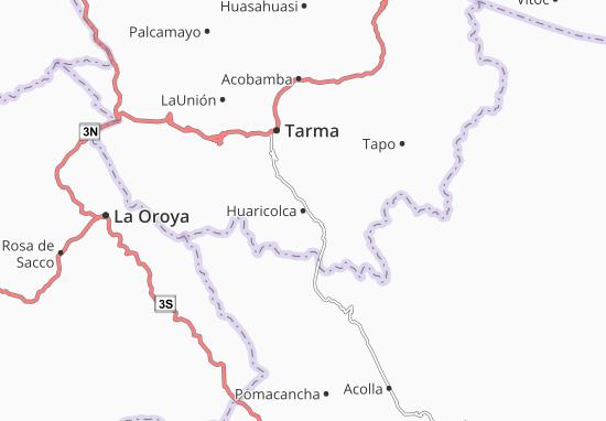 Mappe-Piantine Huaricolca