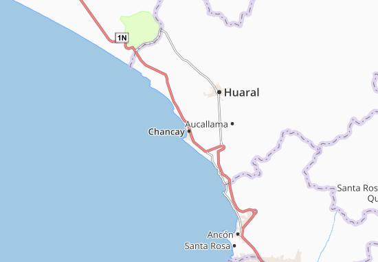 Kaart Plattegrond Chancay