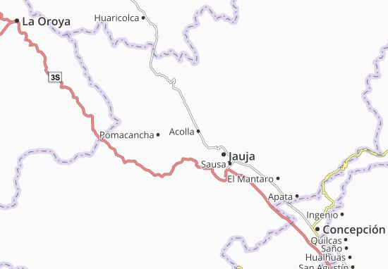 Acolla Map
