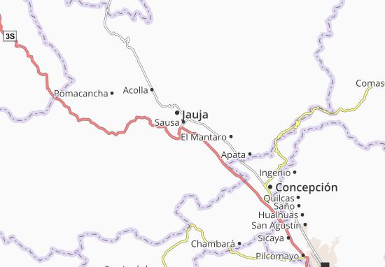 Muquiyauyo Map