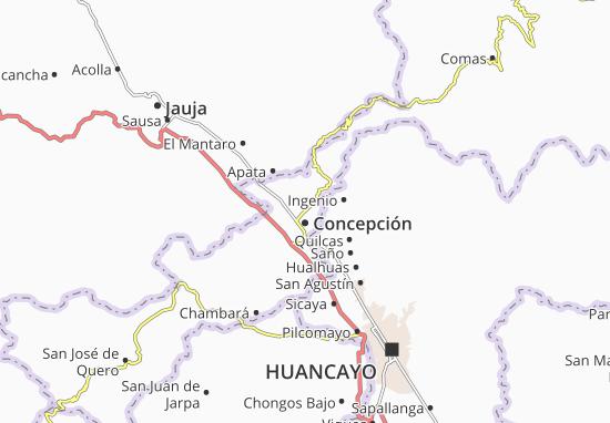 Concepción Map