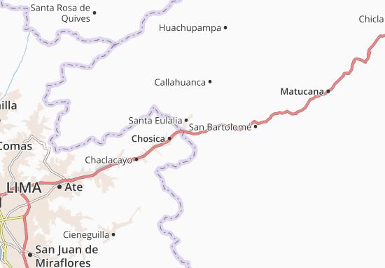 Ricardo Palma Map