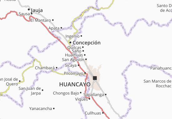 Mappe-Piantine San Agustín