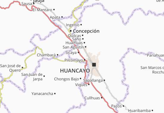 Sicaya Map