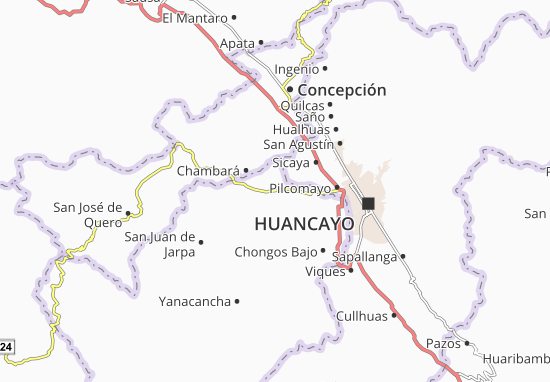 Carte-Plan Huachac