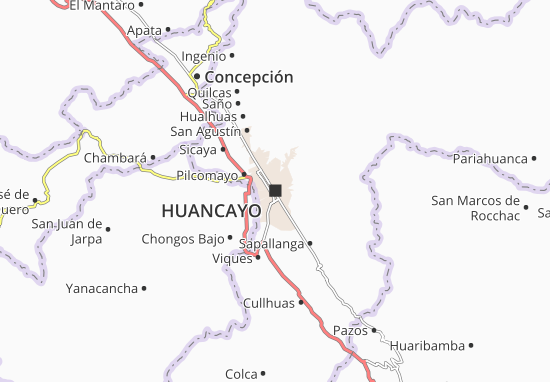 Mappe-Piantine Huancayo