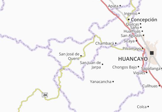 Carte-Plan San José de Quero