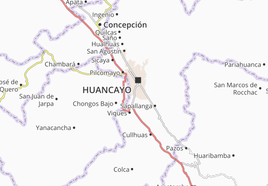Carte-Plan Huancán