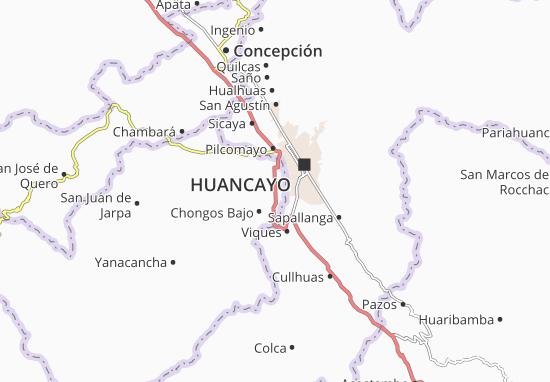 Tres de Diciembre Map