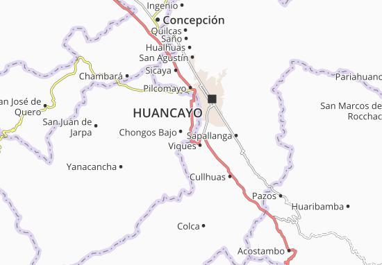 Chongos Bajo Map