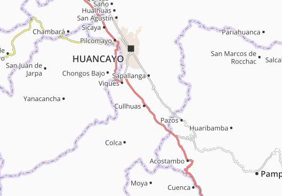 Cullhuas Map