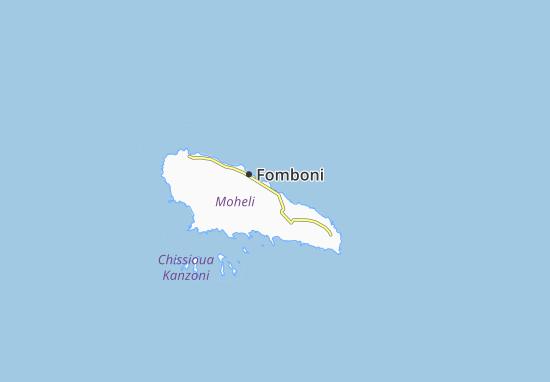 Carte-Plan Gnombéni