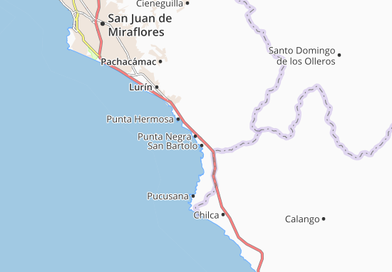 Mapas-Planos Punta Negra