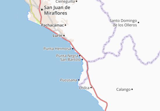 Mappe-Piantine Punta Negra