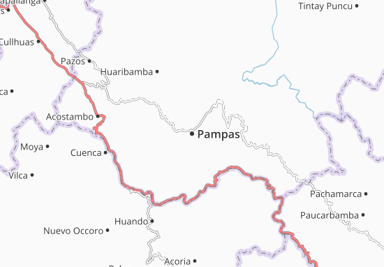 Carte-Plan Pampas